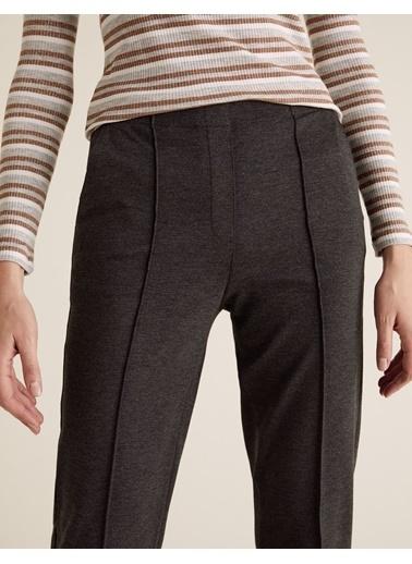 Marks & Spencer Jarse Straight Leg Pantolon Gri
